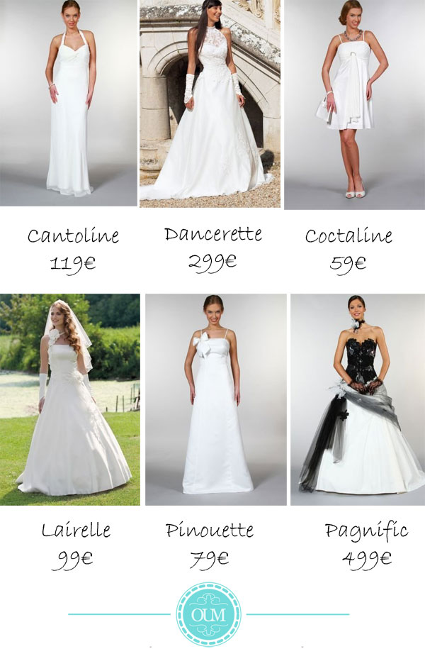 Collection 2012 Tati mariage
