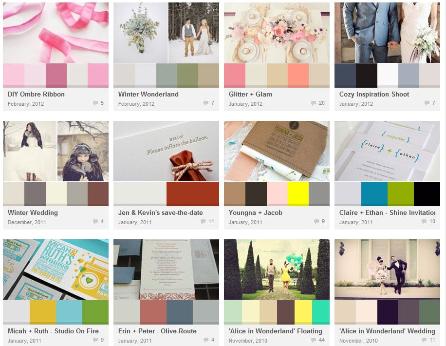 Related posts Exemples couleurs mariage